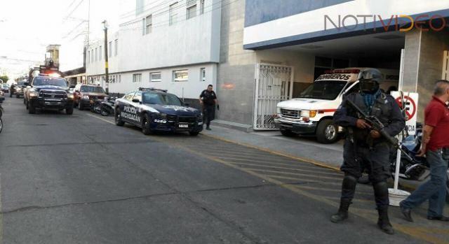 Pistoleros atacan a balazos corporaciones de SSP