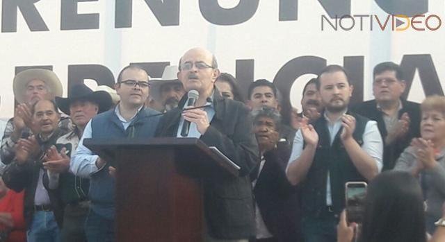 Fausto Vallejo irá con el PES por la alcaldía de Morelia