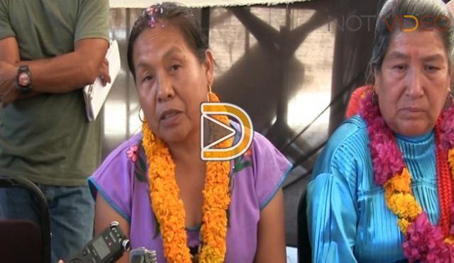 Con 150 mil firmas, la lucha indígena continuará: Marichuy