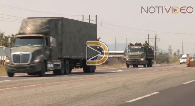 Ejército llega a Michoacán y refuerza seguridad en Tierra Caliente