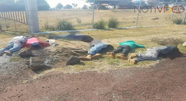 Hallan 7 cadáveres en el acceso de una huerta en Michoacán