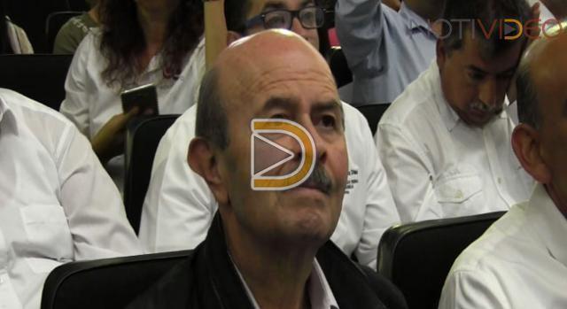 Fausto Vallejo protesta como candidato a la alcaldía de Morelia