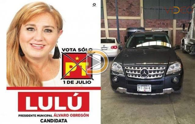 "Comando ""levanta"" a candidata del PT en Álvaro Obregón, Michoacán"