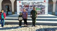 Niña de 8 años es reconocida como soldado del Ejército Mexicano