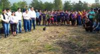 Reforestan el Estadio Morelos