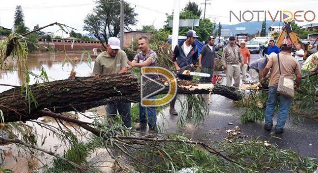 Tornado dejó un fallecido y cuatro desaparecidos en México