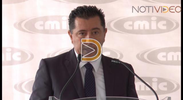 La CMIC apoyará con maquinaria la zona del sismo
