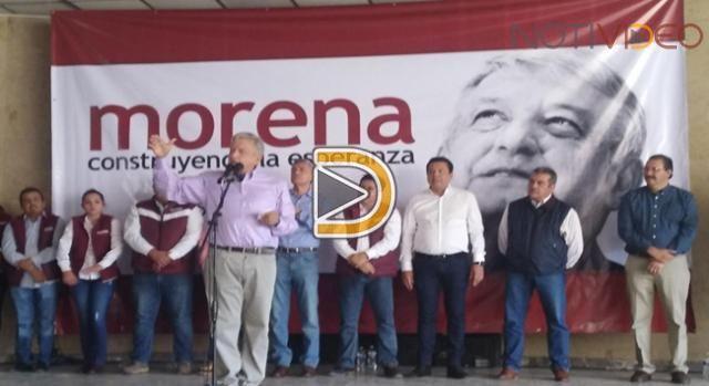 ¿Qué opina López Obrador sobre el destape de Meade? 27/Nov/2017 Nacional